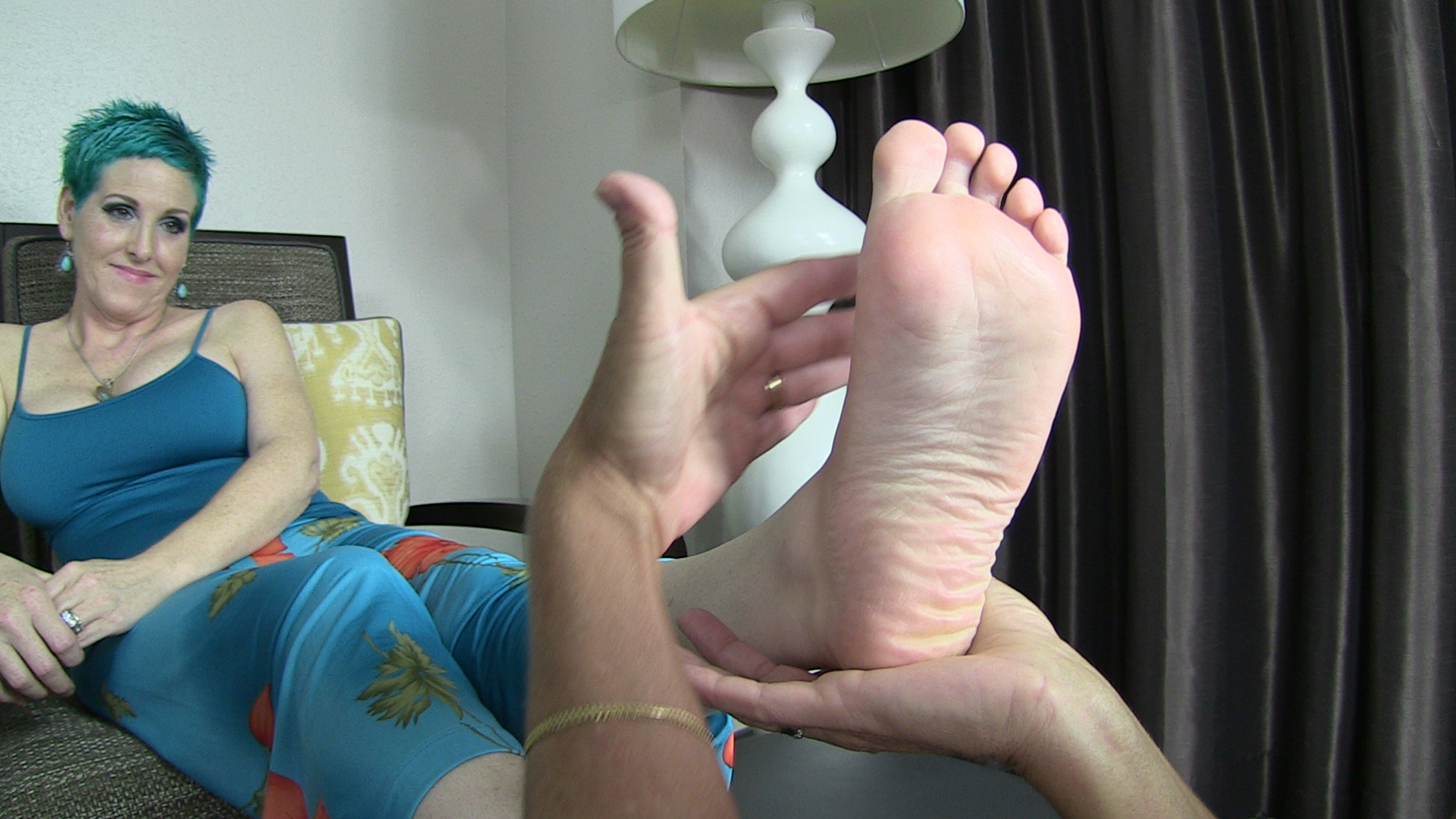 Milf wrinkled soles in your happy face no sound - 1 part 5